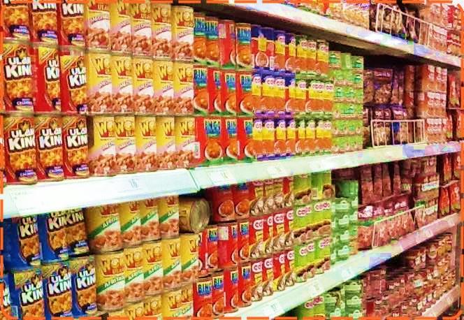 フィリピンのスーパーマーケット