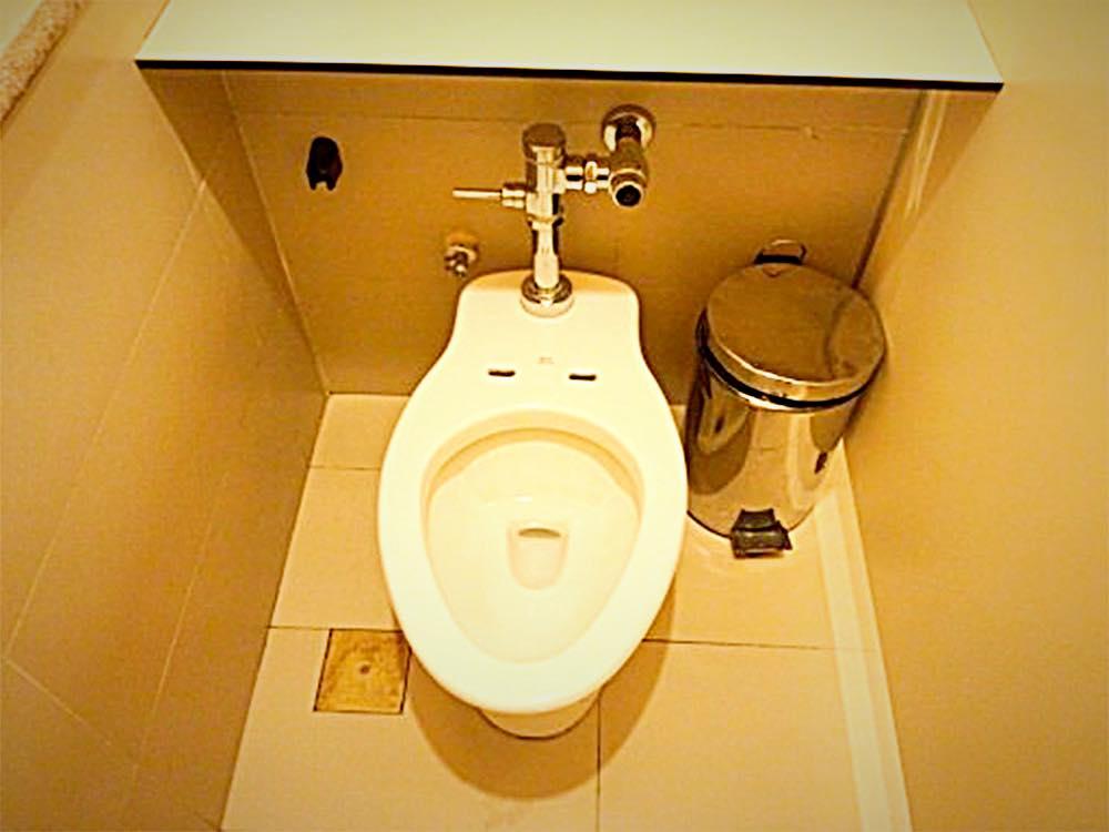 フィリピンのトイレ