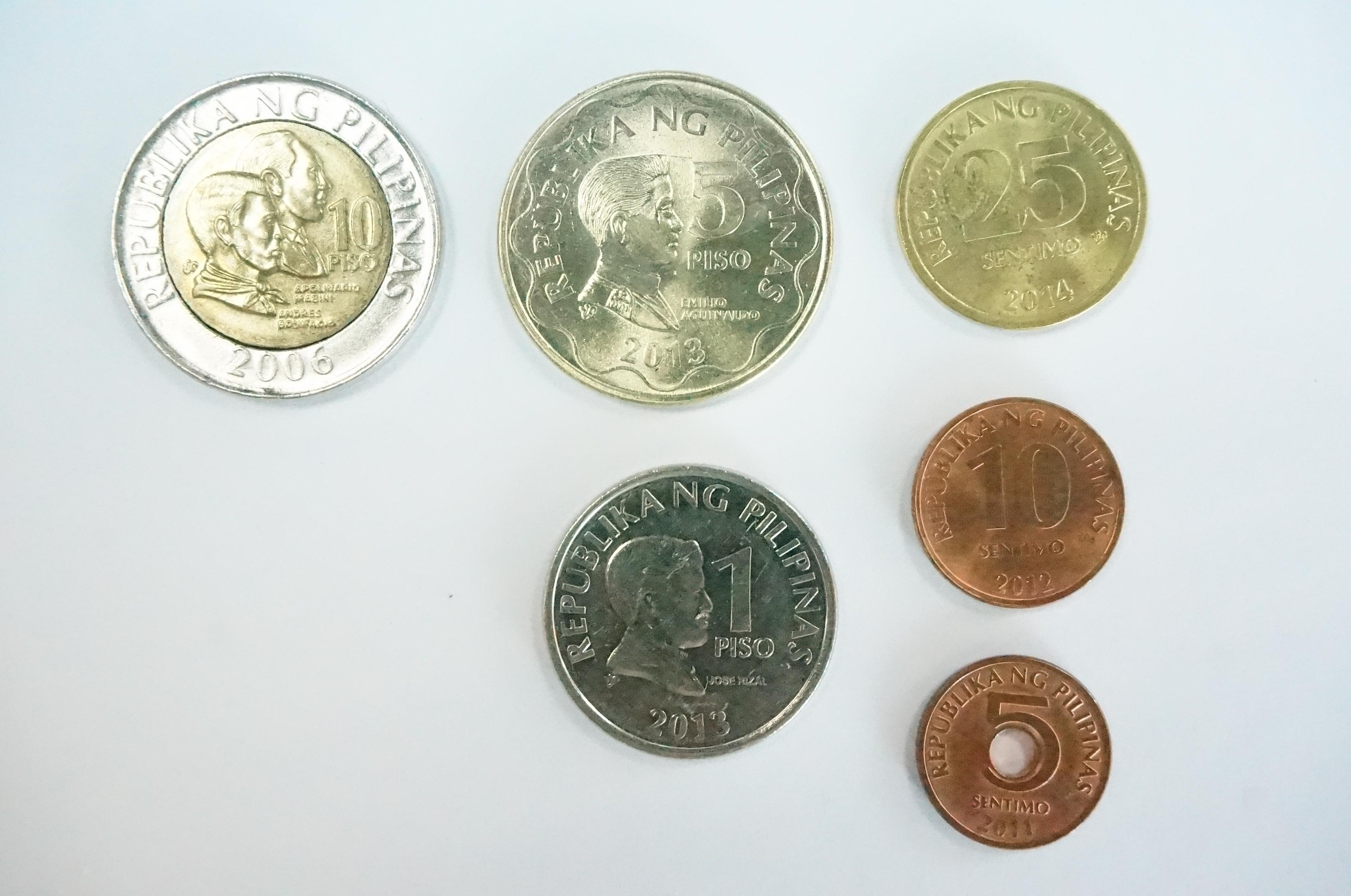 フィリピンのコイン