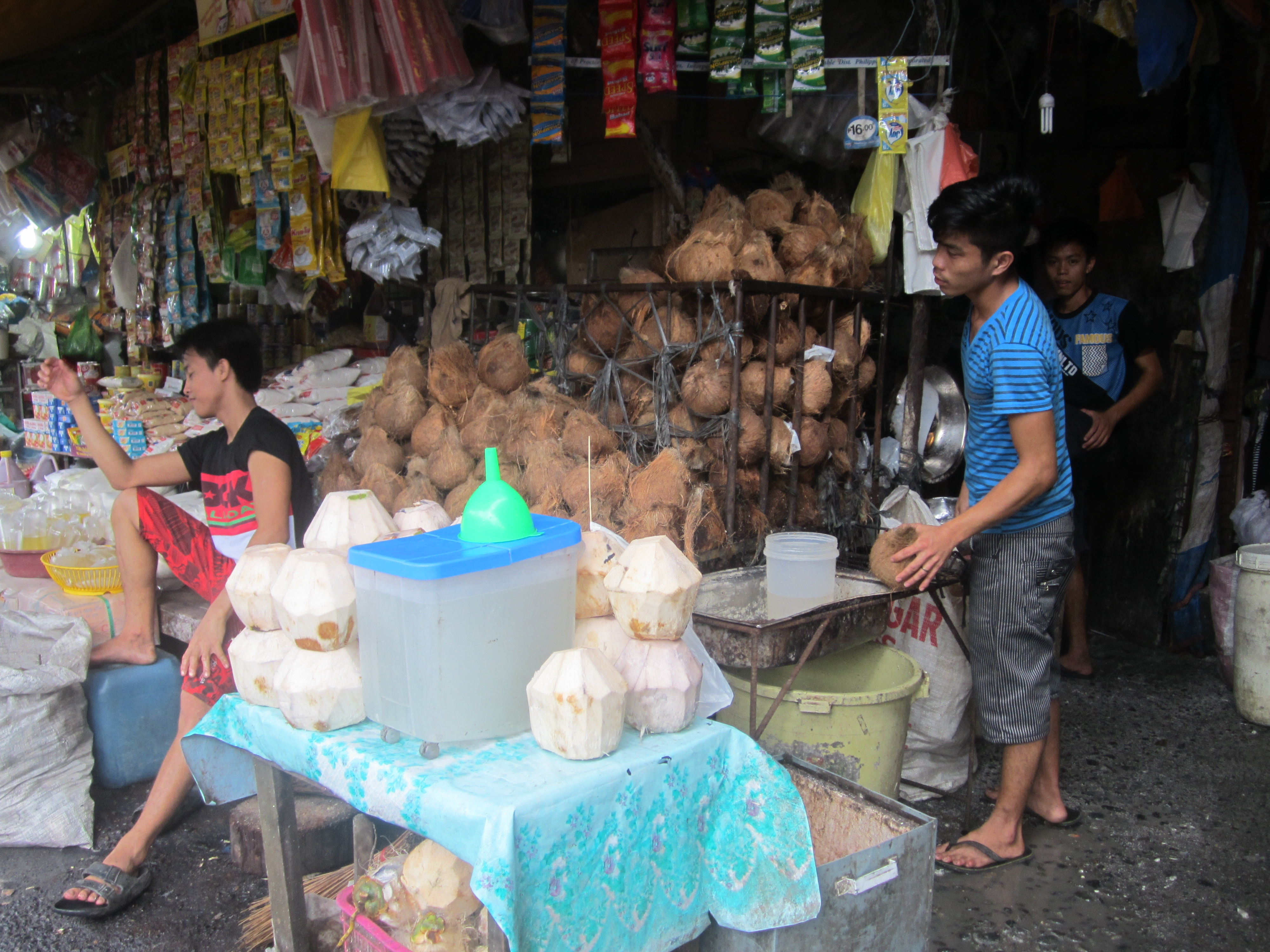 フィリピン ココナッツ屋