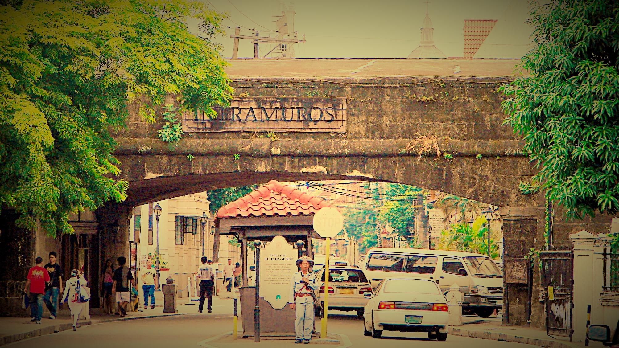 フィリピン・イントラムロス_Fotor