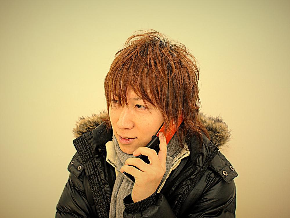 man_calling
